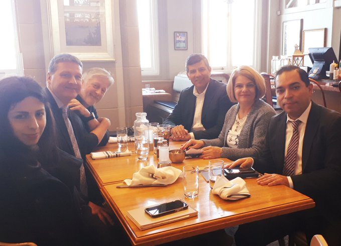 A fruitful meeting with the Consul General of Mexico in Vancouver