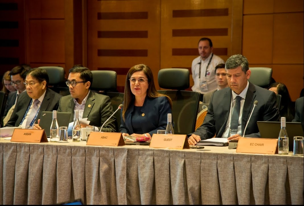 CMX Partnerships director was invited by APEC SOM Chair to present research during the Second Senior Officials' Meeting (SOM2) held Chile